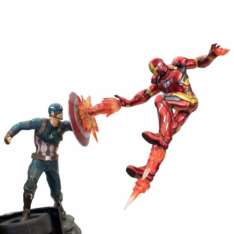 シビル・ウォー キャプテン・アメリカ キャプテン・アメリカ vs アイアンマン マーク46 モーションFIGURE-030340_05