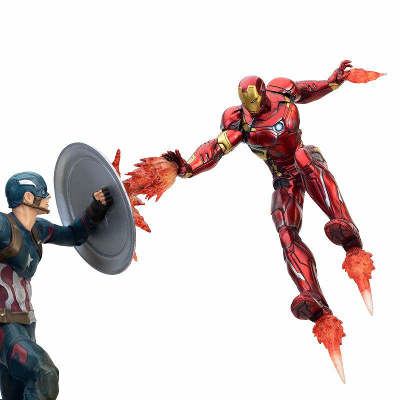 シビル・ウォー キャプテン・アメリカ キャプテン・アメリカ vs アイアンマン マーク46 モーションFIGURE-030340_06