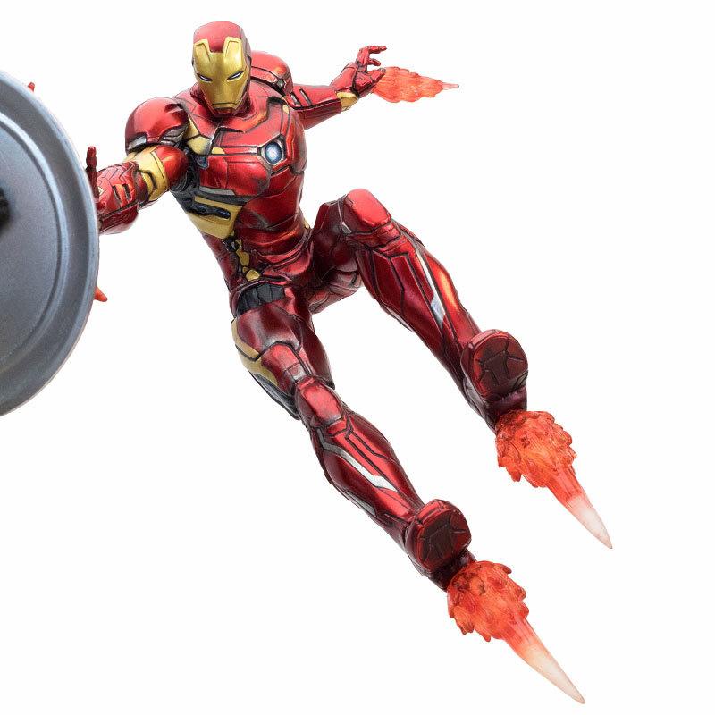 シビル・ウォー キャプテン・アメリカ キャプテン・アメリカ vs アイアンマン マーク46 モーションFIGURE-030340_09