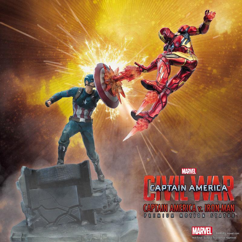シビル・ウォー キャプテン・アメリカ キャプテン・アメリカ vs アイアンマン マーク46 モーションFIGURE-030340_10