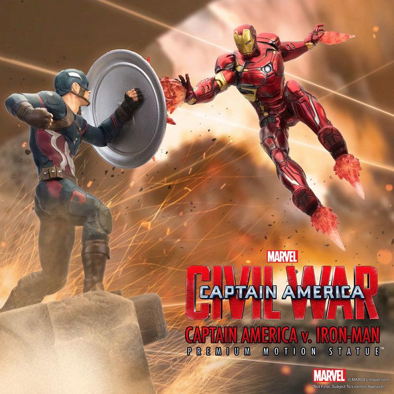 シビル・ウォー キャプテン・アメリカ キャプテン・アメリカ vs アイアンマン マーク46 モーションFIGURE-030340_11