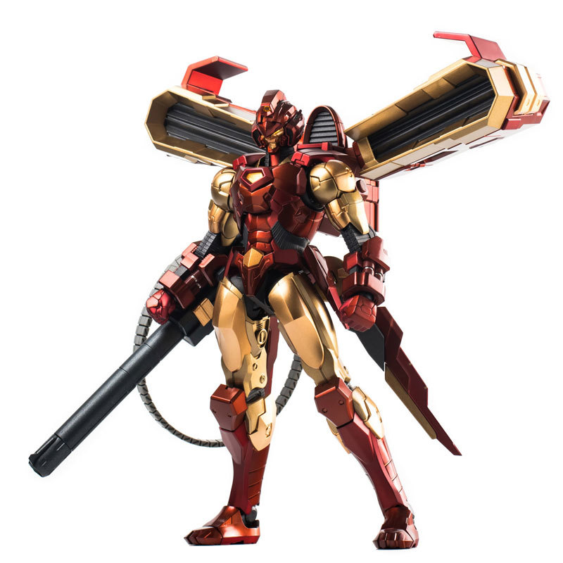 RE:EDIT IRON MAN #12 HOUSE OF M ArmorFIGURE-030782_01