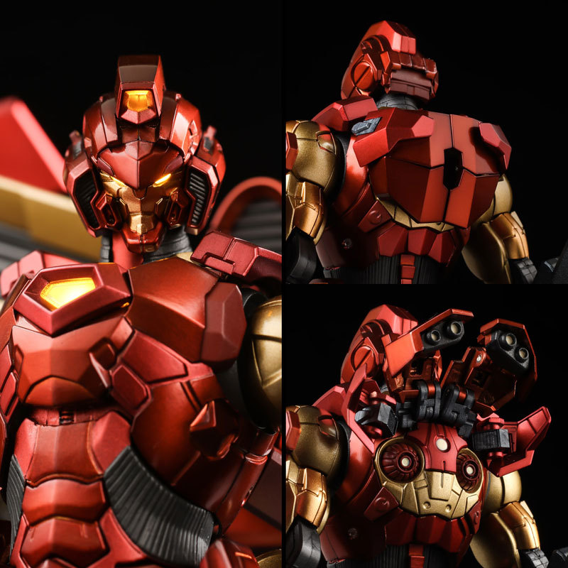 RE:EDIT IRON MAN #12 HOUSE OF M ArmorFIGURE-030782_03