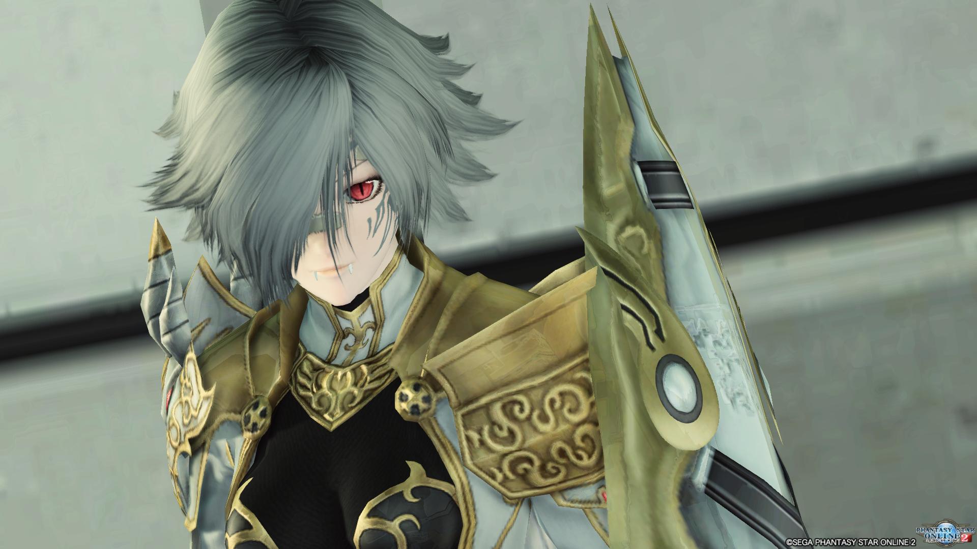 アリサの戦装束 ヘビ目は万能性が高く、非常に便利な瞳です。