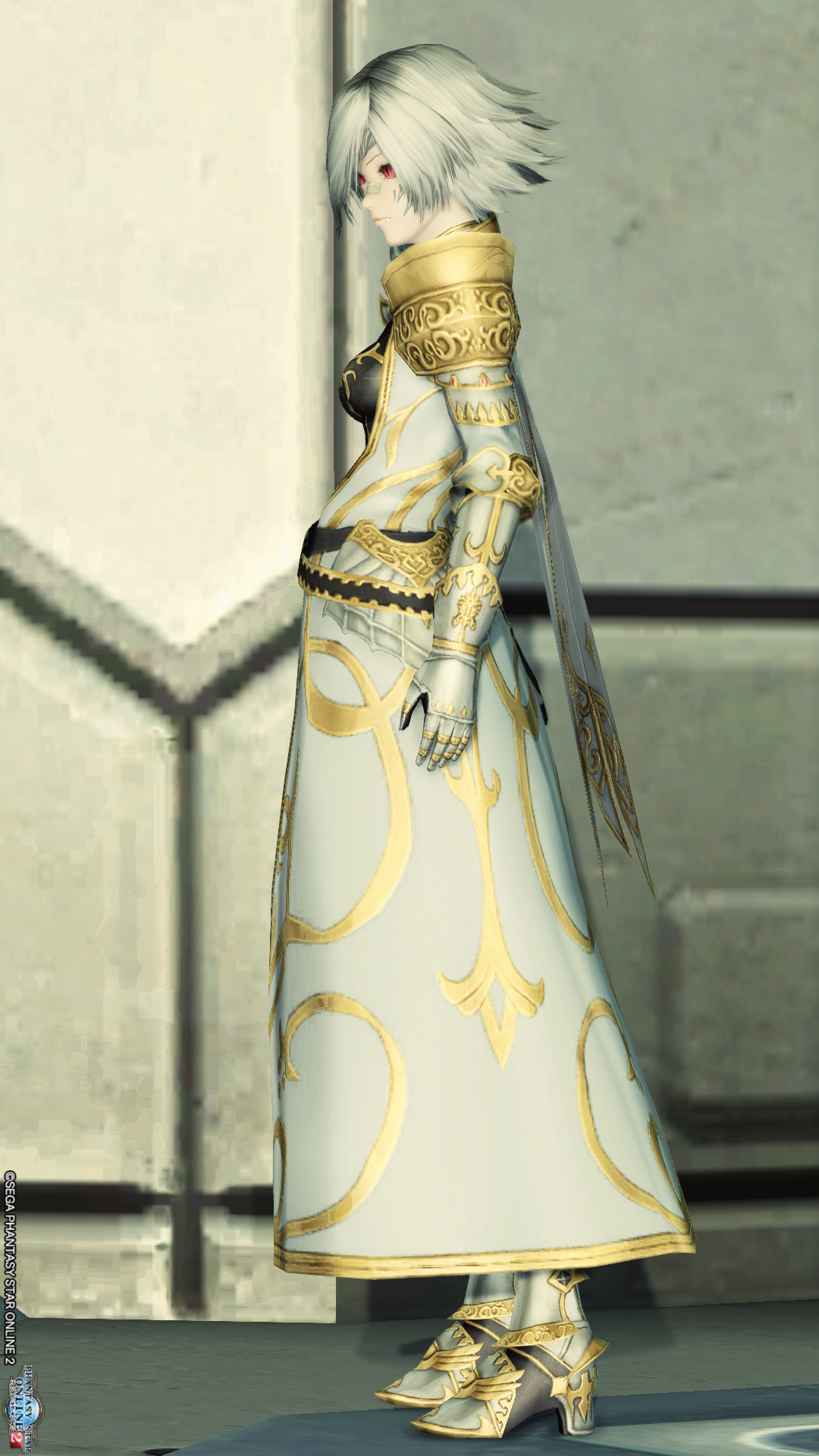 アリサの戦装束 左