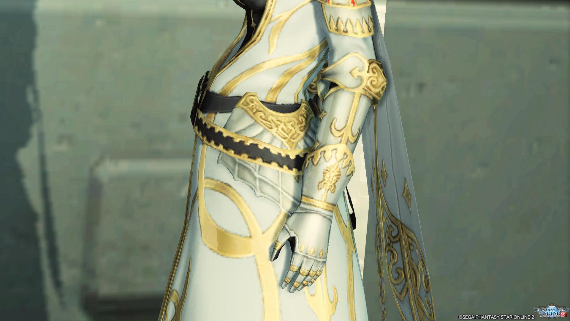 アリサの戦装束 左腕