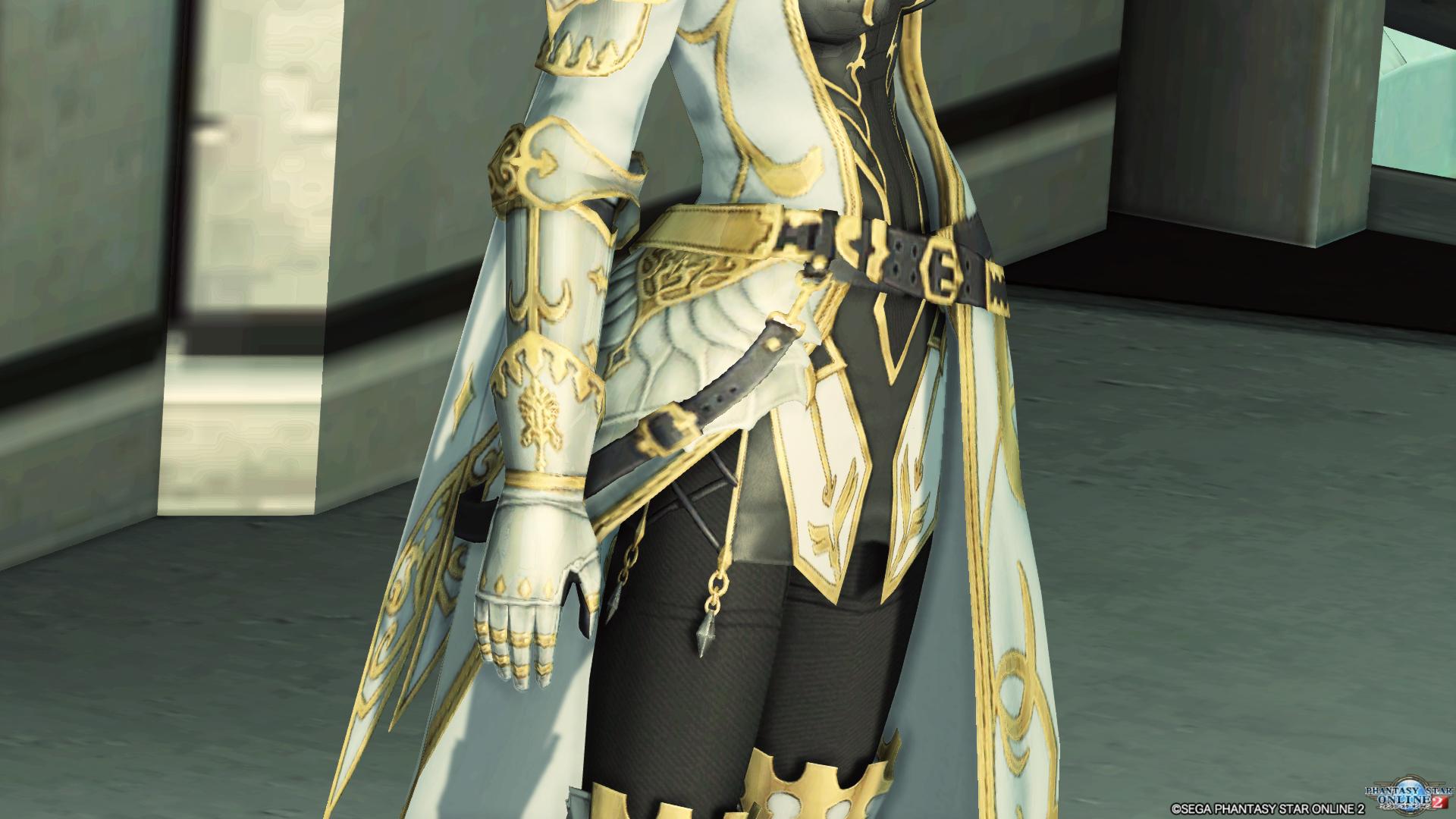 アリサの戦装束 右腕