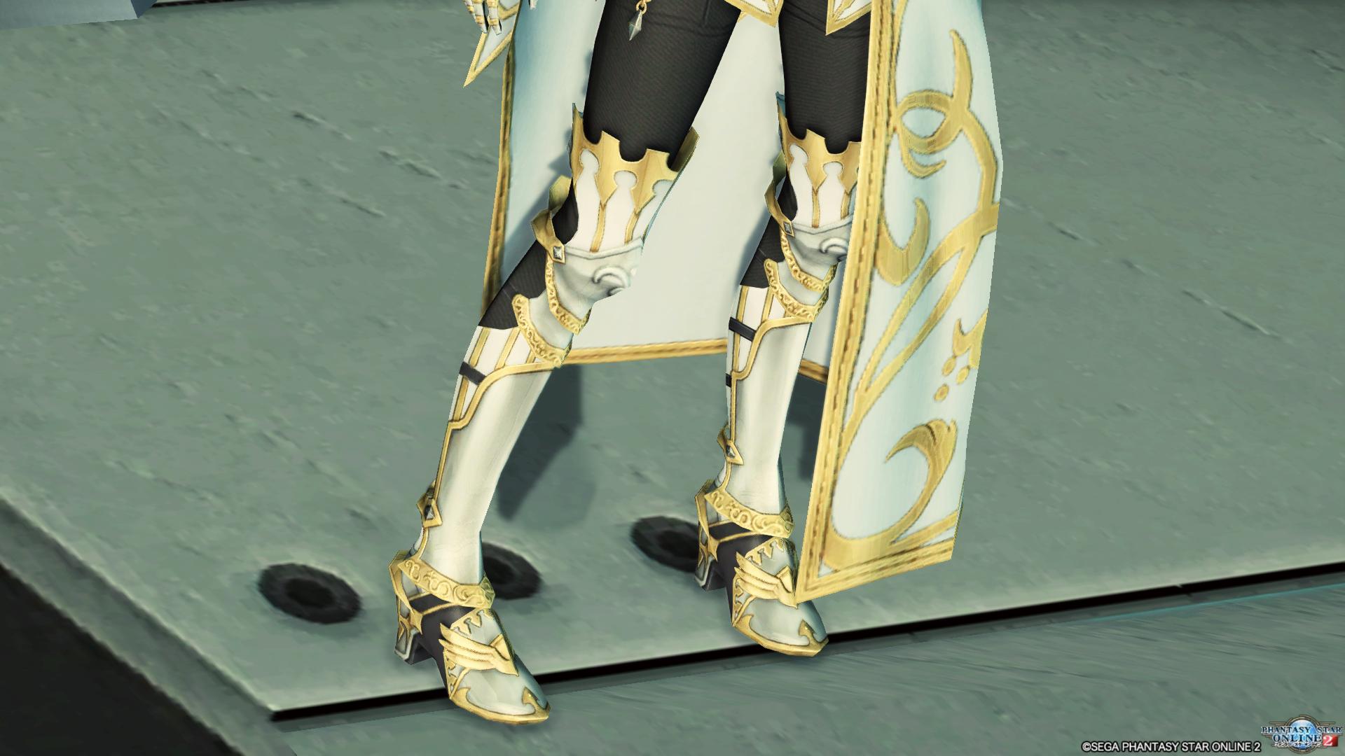 アリサの戦装束 脚