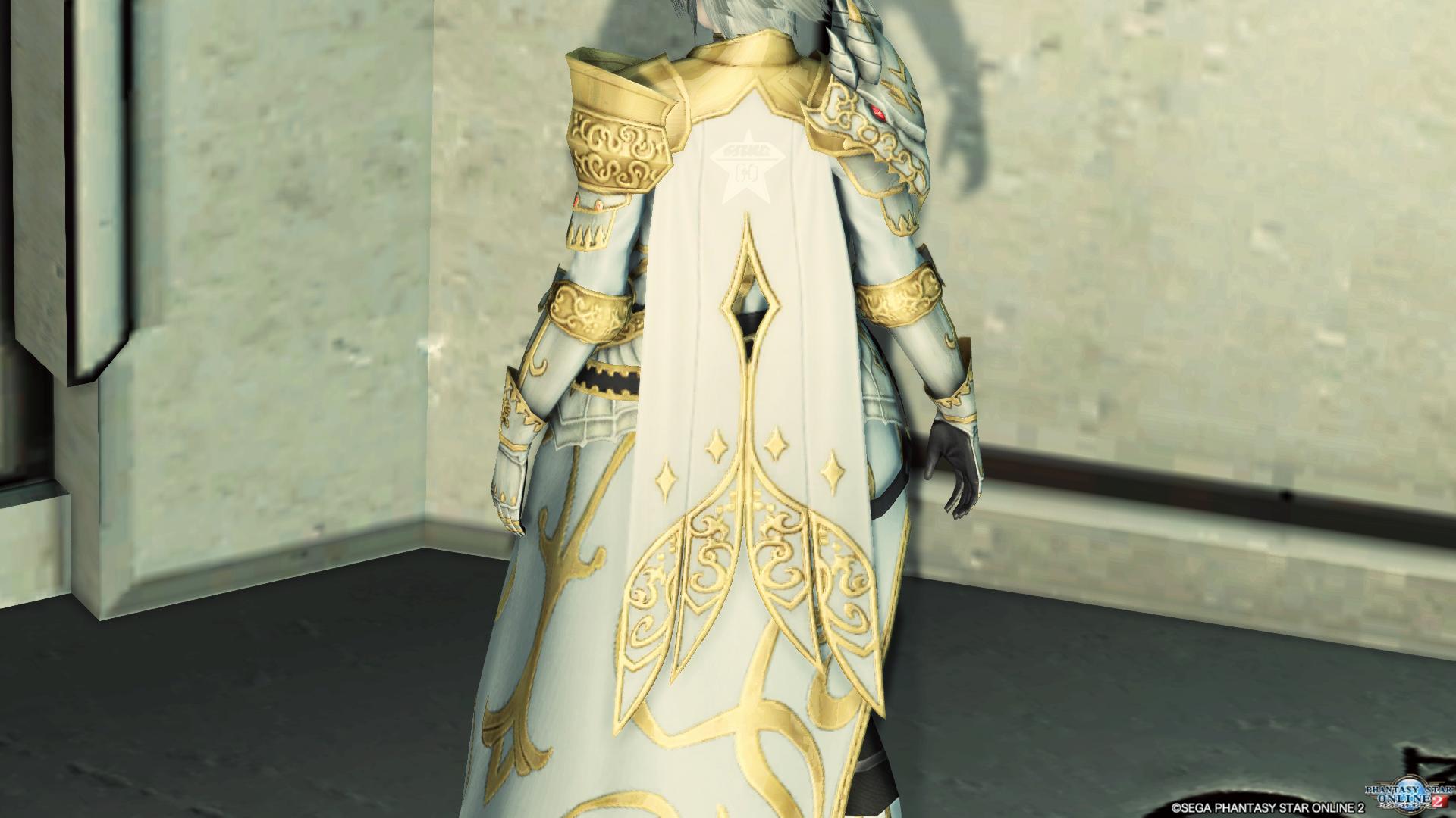 アリサの戦装束 マント