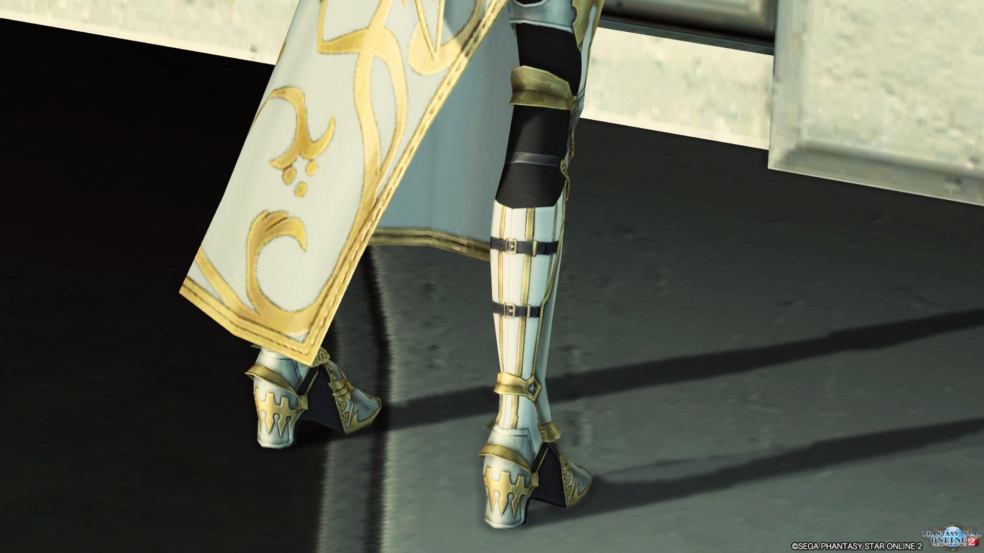 アリサの戦装束 脚 後ろ