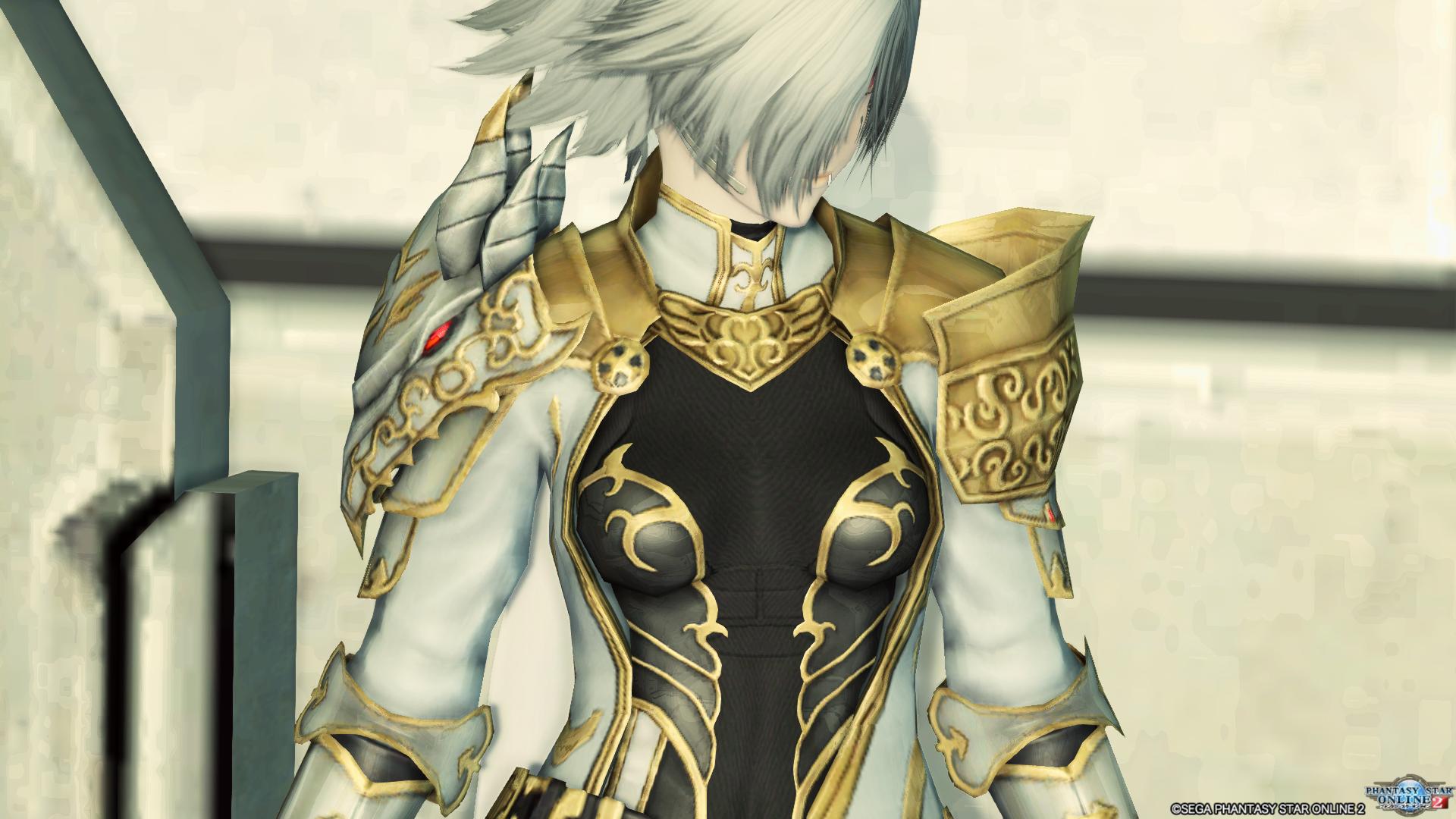 アリサの戦装束 胸像