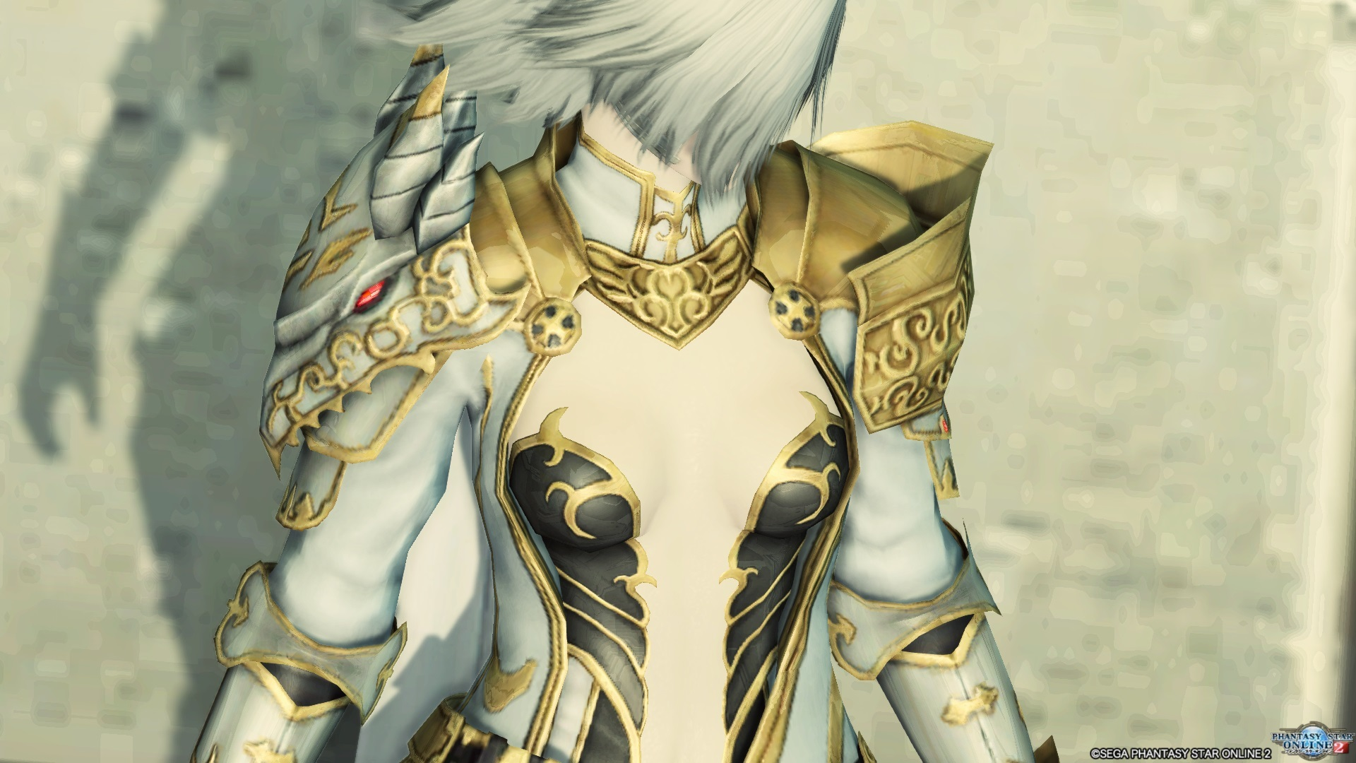 アリサの戦装束 ボディペイント無し