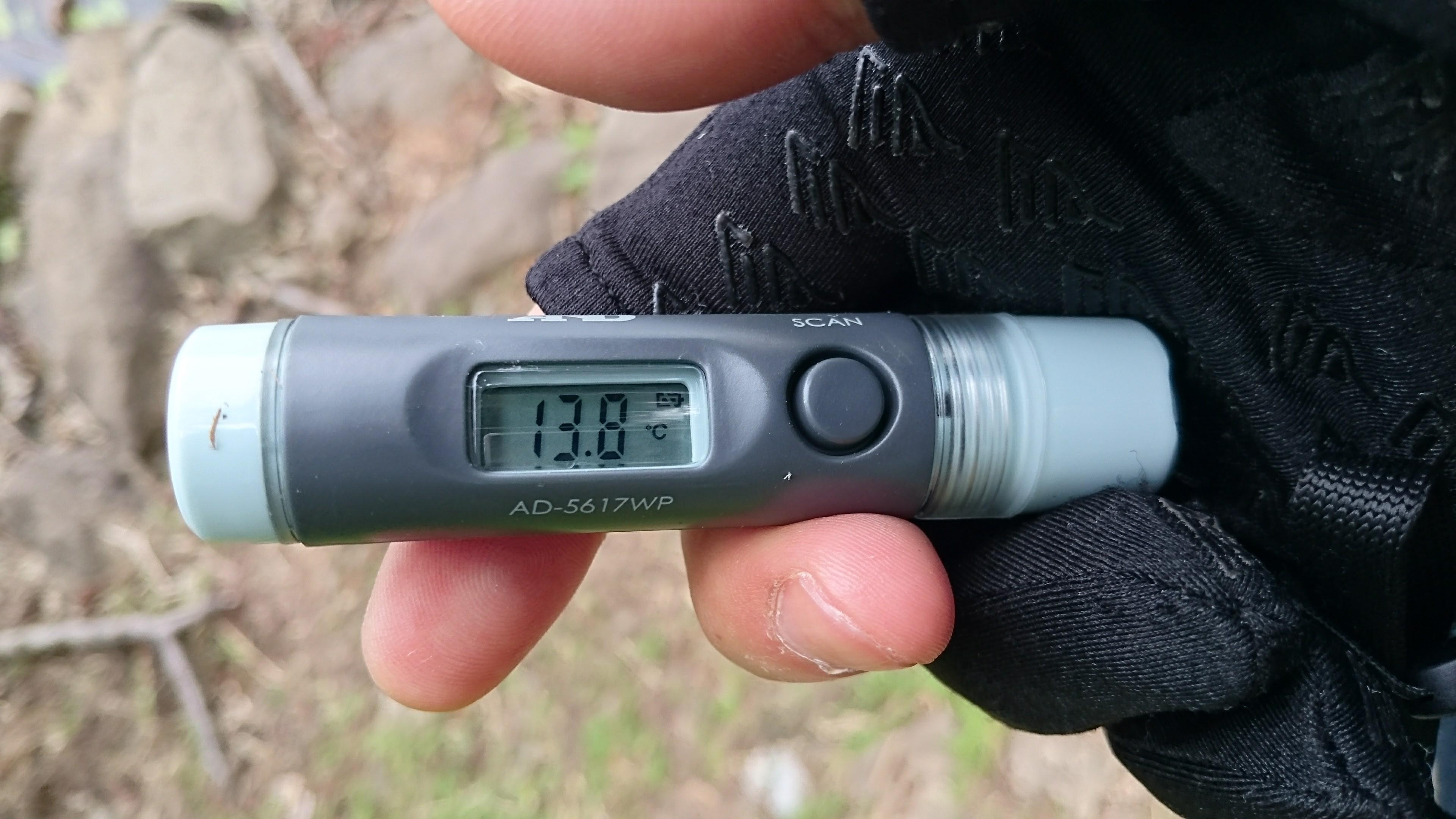 三本木沼-気温