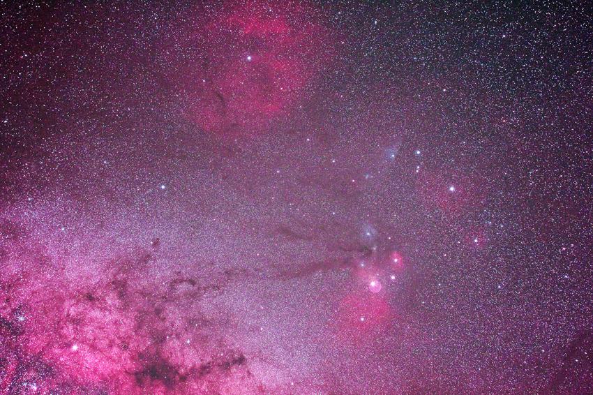 20170325御崎岬で見た天の川とさそり座