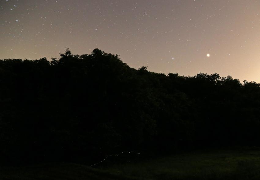 20170719蛍の光跡と星