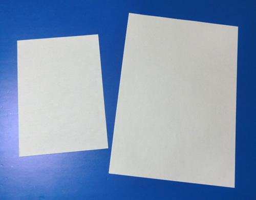 A4とA5の紙で・・・、