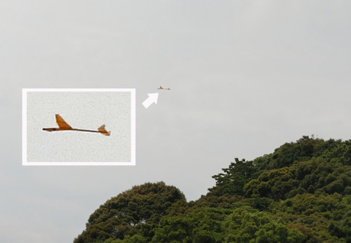 R590、飛んでるトコ。