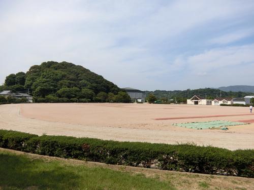 今日はこちら長与総合公園で。