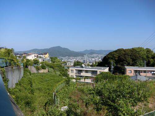 坂を上るとヨカ景色が待ってます。