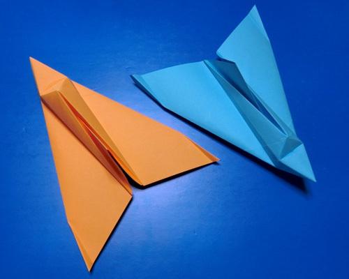 紙飛行機教室の・・・、