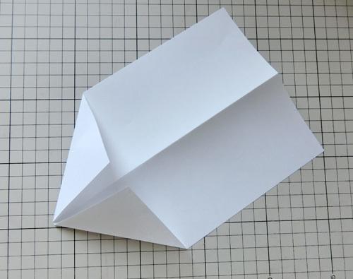 例の折り紙機の折り方、その3!