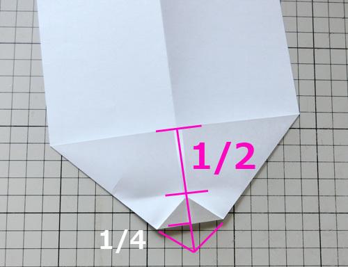例の折り紙機の折り方、その5!