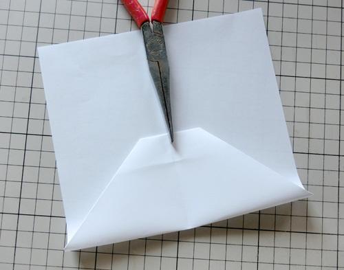 例の折り紙機の折り方、その6!