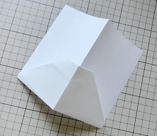 例の折り紙機の折り方、その9!