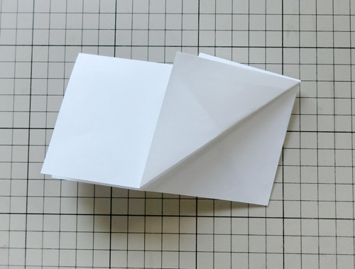 例の折り紙機の折り方、その12!