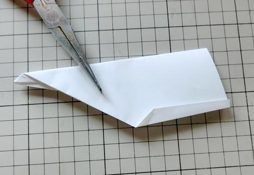 例の折り紙機の折り方。 その18!