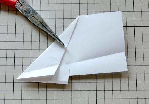 例の折り紙機の折り方。 その17!