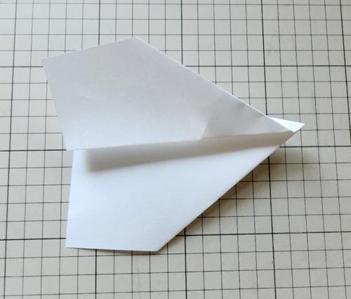 例の折り紙機の折り方。 その16!
