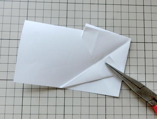 例の折り紙機の折り方。 その13!