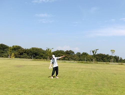 自由機競技中~! T田さんね。