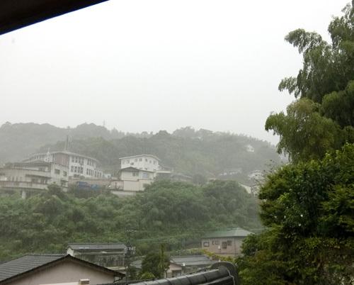 ゲリラ豪雨!?