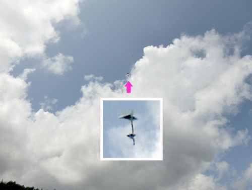 多翼先尾翼機! その1。 只今墜落中~!?