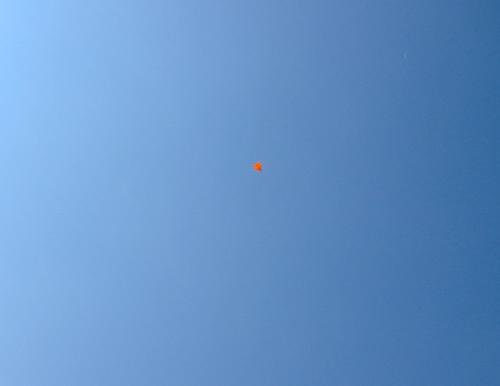 折り紙機、オレンジの方、 その1。