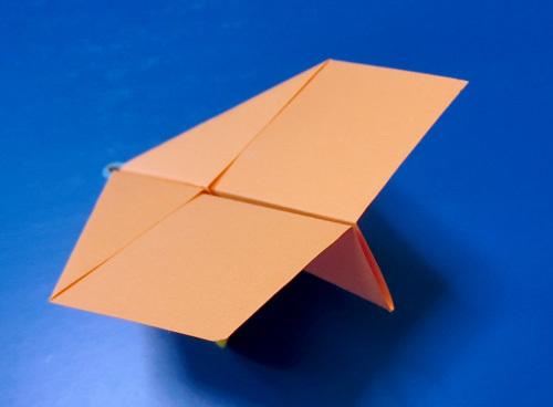 折り紙ヒコーキの調整、その2