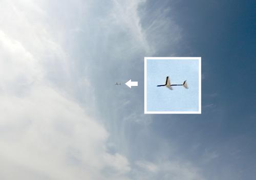 くいーんX3の飛んでるトコ。 その1!
