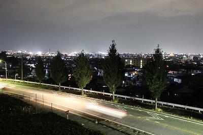 善光寺町 夜景