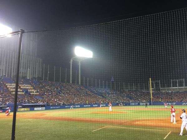 ひめたん カープ 神宮球場2