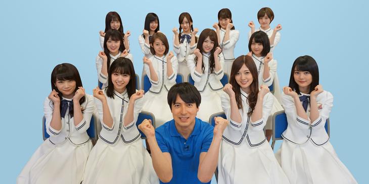 乃木坂46が2年連続で「高校生クイズ」の番組サポーターに!3期生も参加