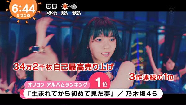【オリコン】乃木坂46、アルバム自己最高売上34.2万枚で3作連続首位