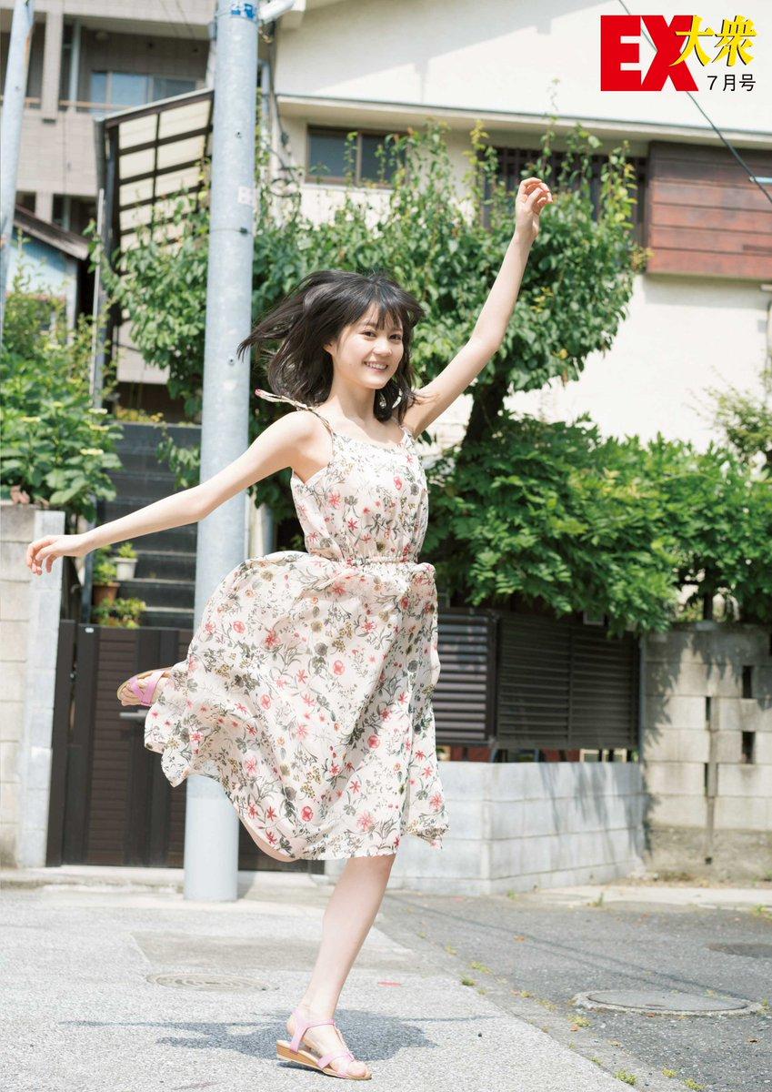 EX大衆 7月号 生田絵梨花 クリアファイル画像2