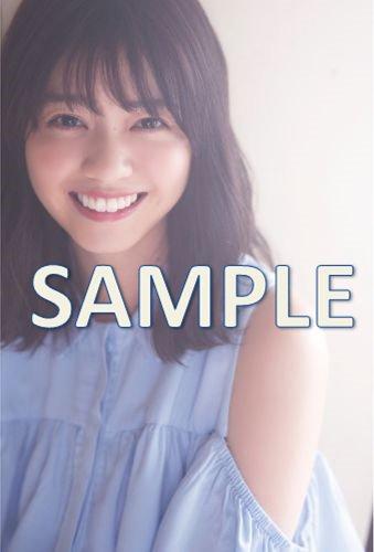 UBKA (ブブカ) セブンネット限定特典 2017年8月号 ポストカード 西野七瀬