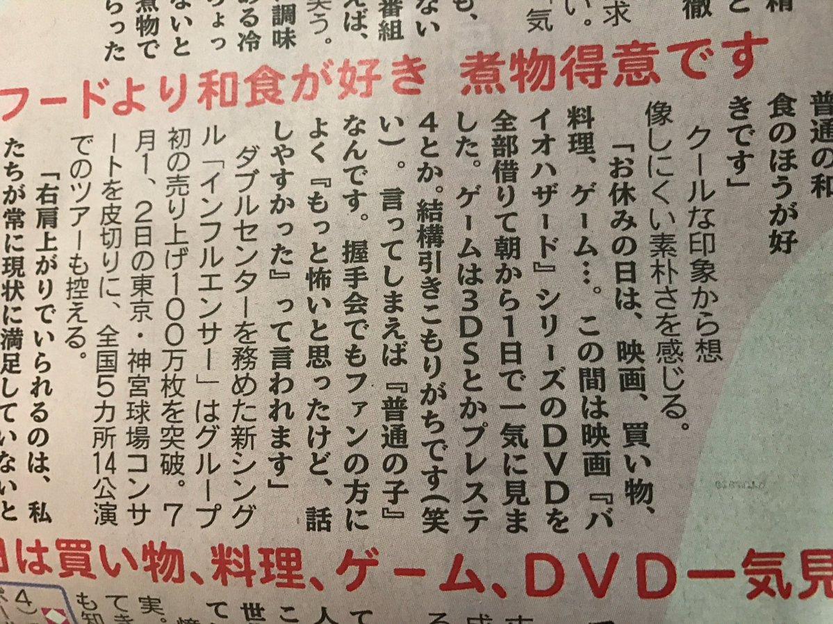 日刊スポーツ「日曜日のヒロイン」
