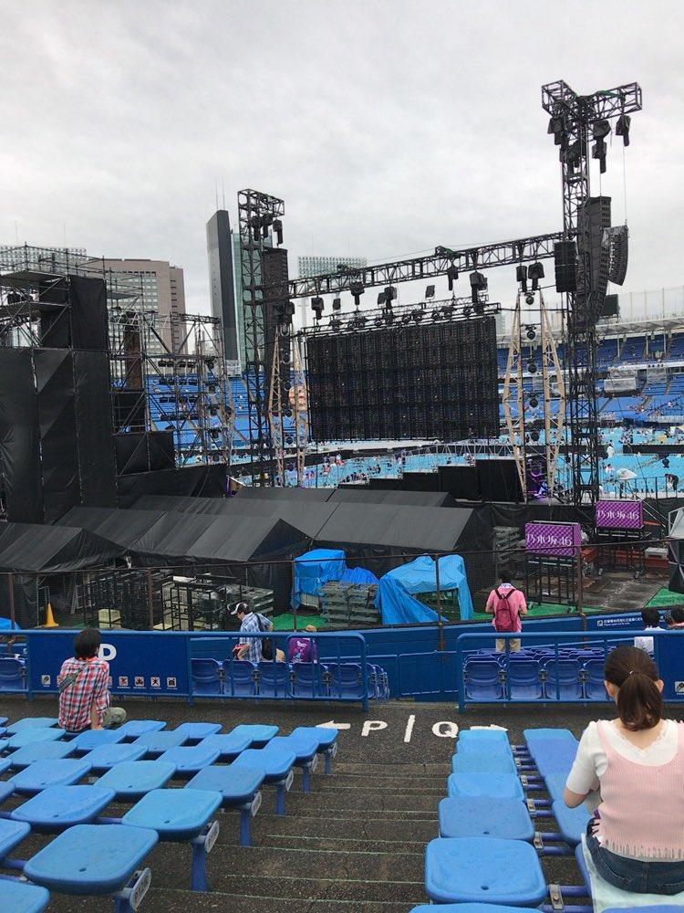 乃木坂46 真夏の全国ツアー2017 明治神宮球場公演 ステージバック席