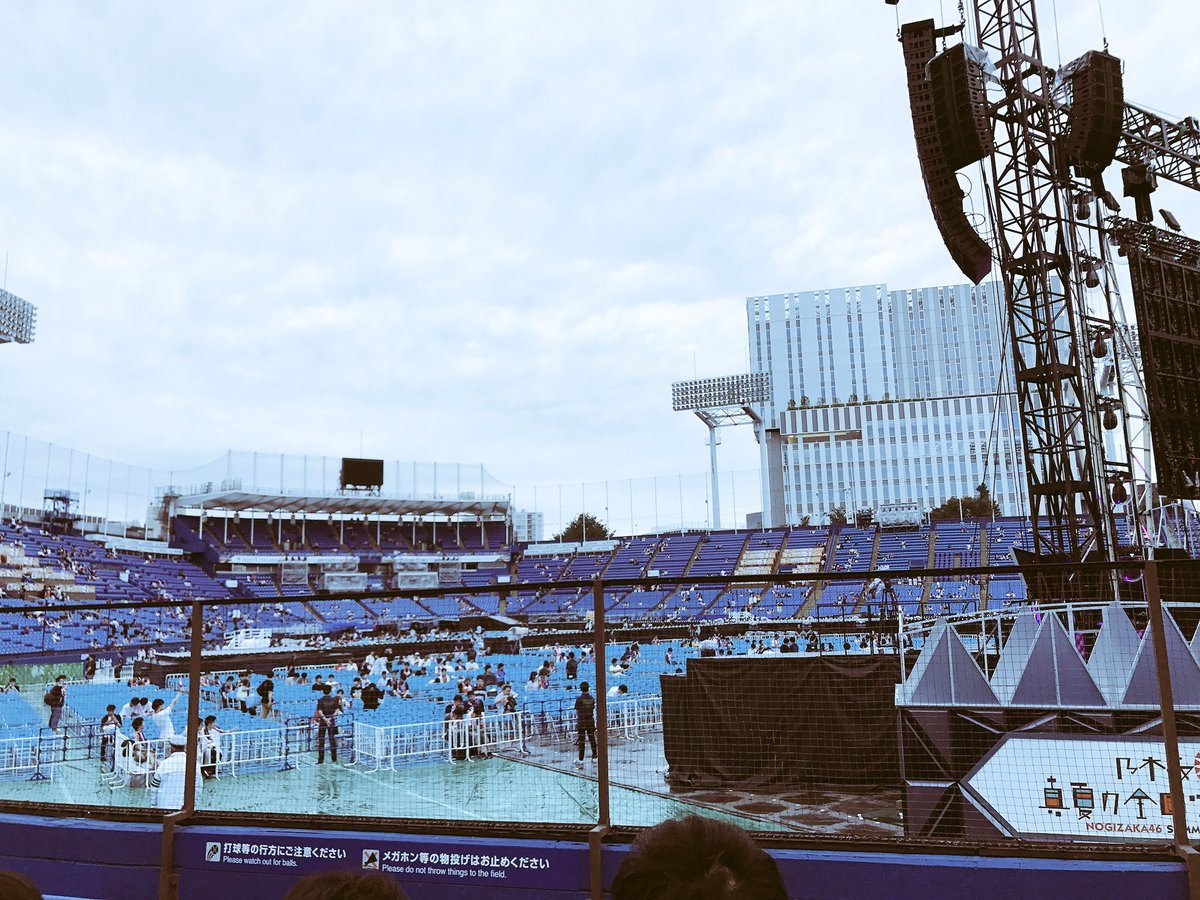 乃木坂46 真夏の全国ツアー2017 明治神宮球場公演 ステージバック席2
