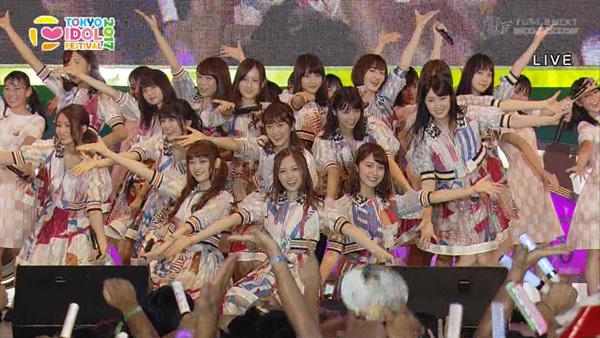 乃木坂46選抜メンバー TIF2017