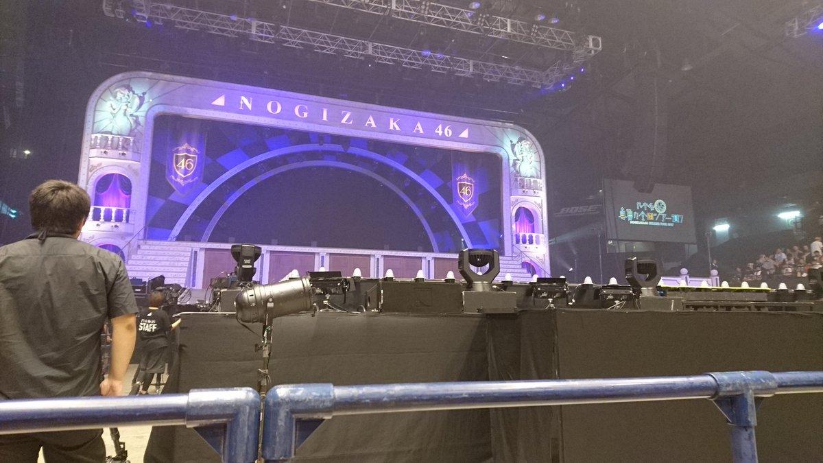 乃木坂46「真夏の全国ツアー2017」@宮城県・ゼビオアリーナ仙台 初日